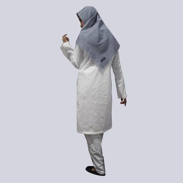 Setelan-Baju-Ihram-Putih-Katun-Lengkap