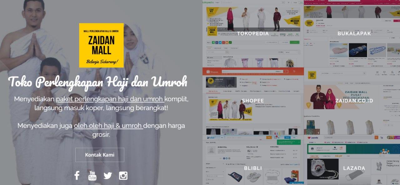 Toko Online Shop Zaidan | Perlengkapan Umroh Wanita