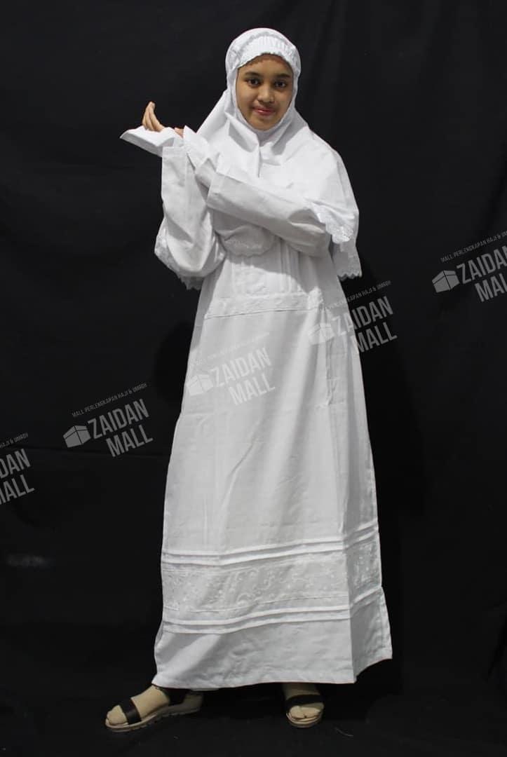 Baju Ihrom Wanita | Perlengkapan Umroh Wanita